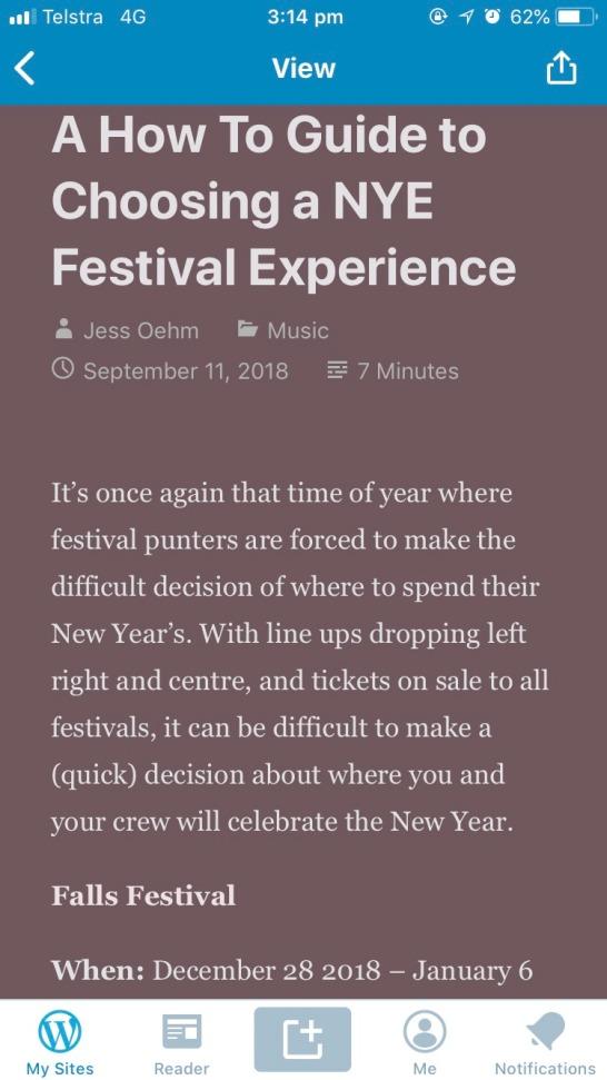 nye festival post